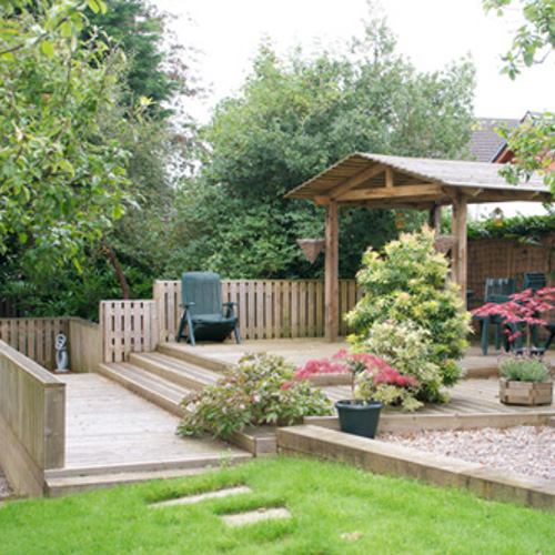 Garden Pergolas, Arbours, Arches and Gazebos