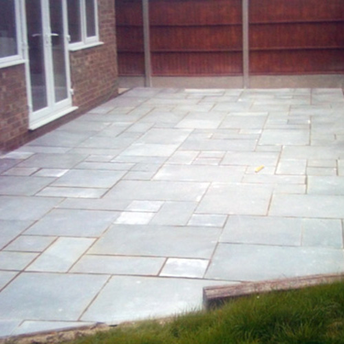Paving Slab Pathways & Patios